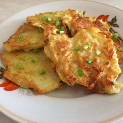 Деруны картофельные - рецепт с фото