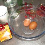 Фото рецепта - Вареники сахарные с вишней - шаг 1