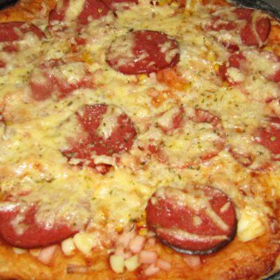 Фото рецепта - Пицца на воде - шаг 7