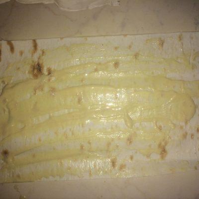 Фото рецепта - Сосиска в лаваше - шаг 3