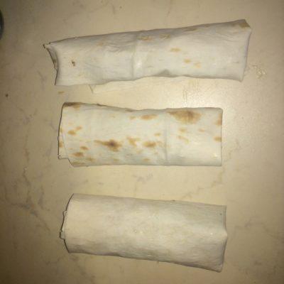 Фото рецепта - Сосиска в лаваше - шаг 6