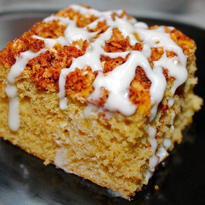Апельсиновый белковый кекс - рецепт с фото