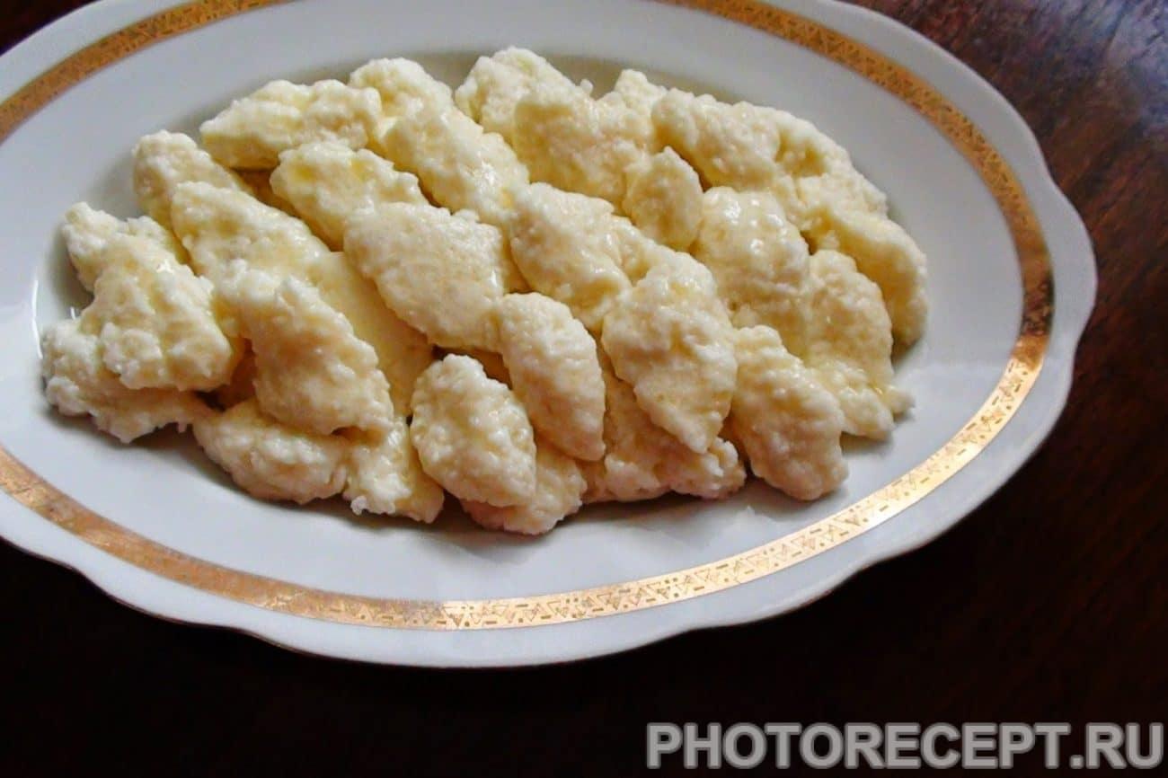 Австрийские кнедлики из сыра