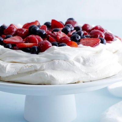 Десерт- безе «Анна Павлова» - рецепт с фото