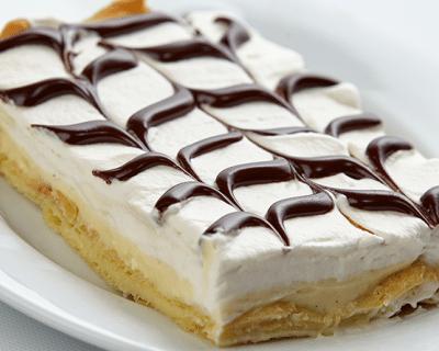 Эклерный торт - рецепт с фото