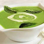 Гороховый крем-суп с эстрагоном
