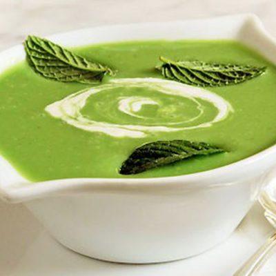 Гороховый крем-суп с эстрагоном - рецепт с фото