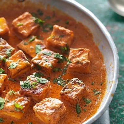 Сыр в пряном соусе, по-индийски - рецепт с фото