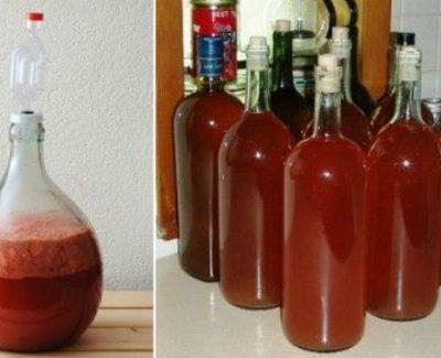 Вино из клубники - рецепт с фото