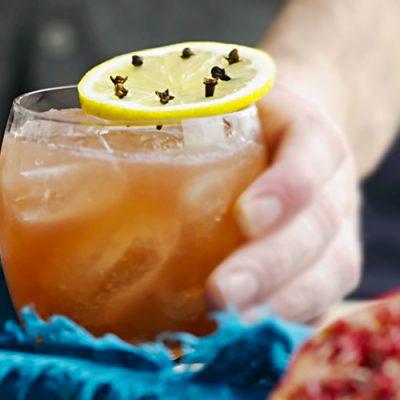 Яблочно-гранатовый пунш - рецепт с фото