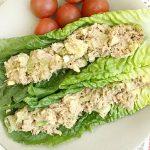 Закусочный салат с авокадо и тунцом