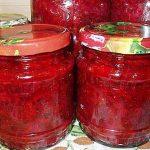 Заправка для борща из бурака, томатов и сладкого перца