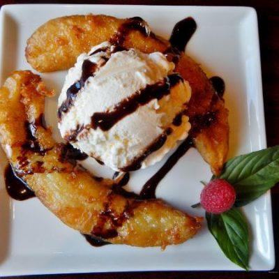 Банановый десерт «Фантазия» - рецепт с фото