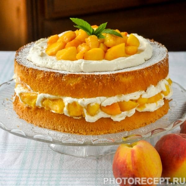 Блюда из персиков