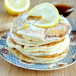Лимонные панкейки (блинчики) с рикоттой