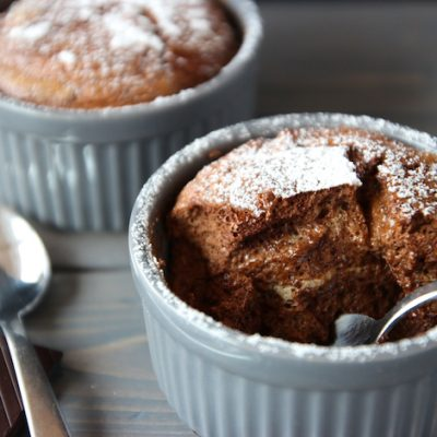 Орехово-шоколадное суфле - рецепт с фото