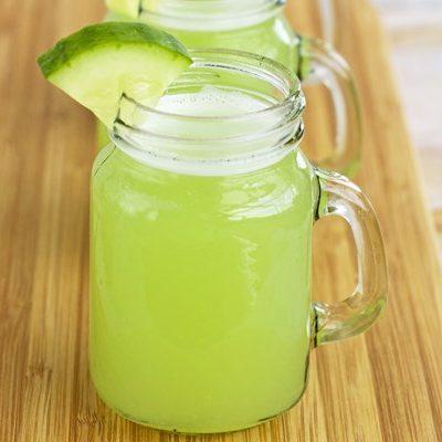 Освежающий огуречный лимонад - рецепт с фото