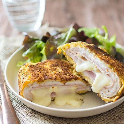 Отбивные котлеты «Кордон Блю» с сыром и ветчиной - рецепт с фото