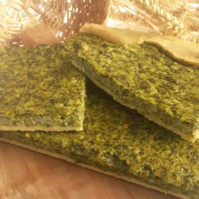 Пирог Эрбаццоне с сыром и шпинатом - рецепт с фото