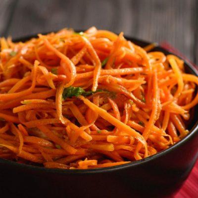 Салат морковь по-корейски - рецепт с фото