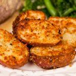 Запеченный картофель в панировке с медом