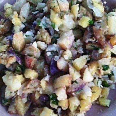 Картофель по-холостяцки - рецепт с фото