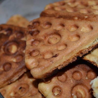 Печенье «Треугольники» в форме - рецепт с фото