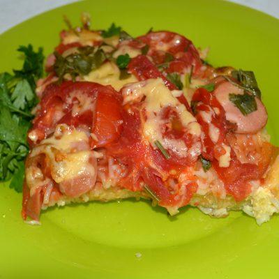 Макаронная пицца - рецепт с фото