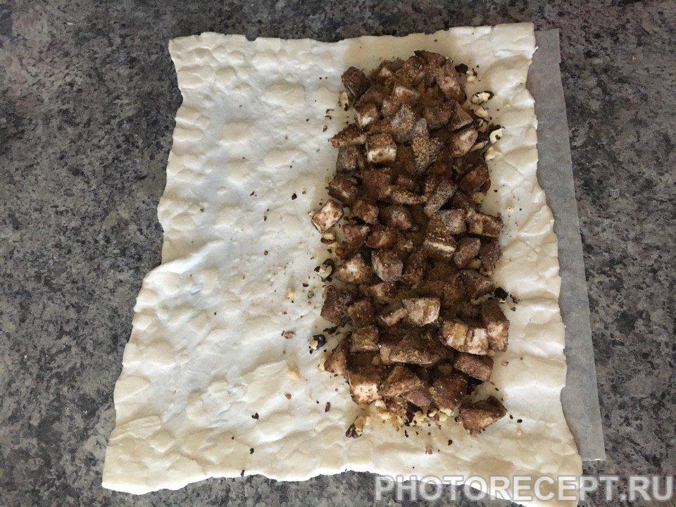 Фото рецепта - Яблочный штрудель - шаг 5