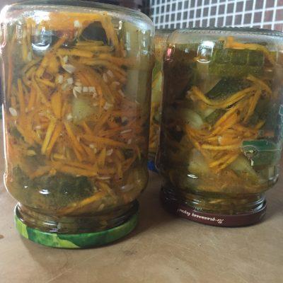 Огурцы с приправой «по-корейски» - рецепт с фото