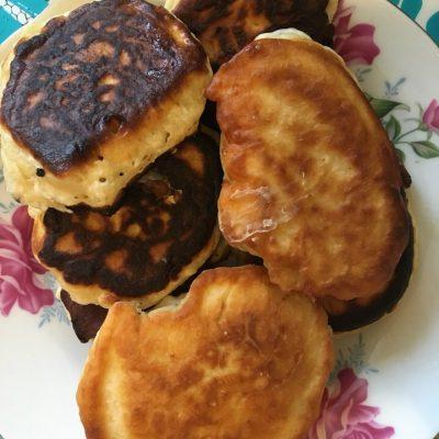 Кефирные оладьи — готовим вкусные оладьи - рецепт с фото