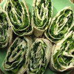 Закуска из лаваша с зеленью