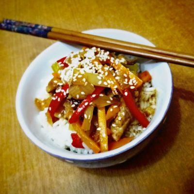 Гулу Жоу — свинина в кисло-сладком соусе - рецепт с фото