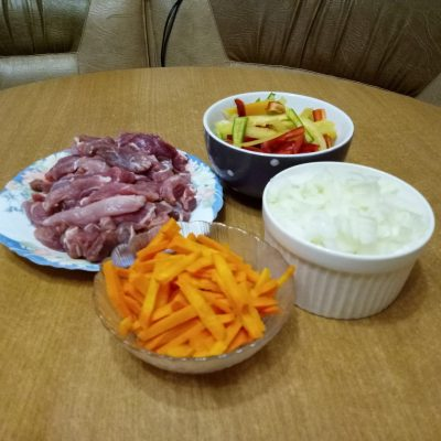 Фото рецепта - Гулу Жоу — свинина в кисло-сладком соусе - шаг 1