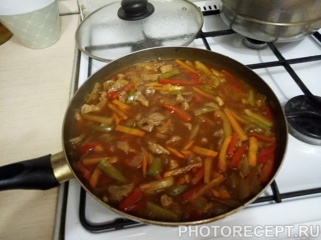 Фото рецепта - Гулу Жоу — свинина в кисло-сладком соусе - шаг 7