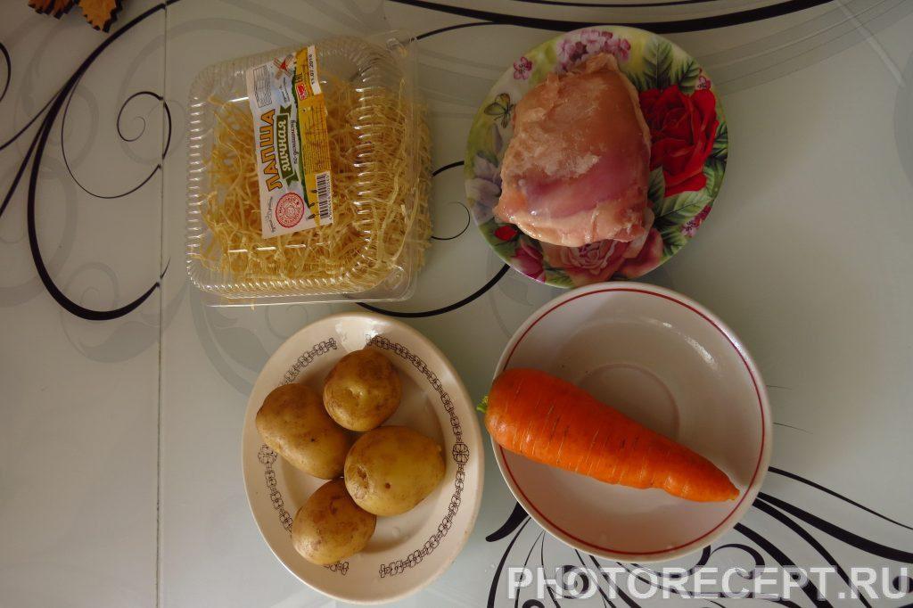 Фото рецепта - Суп куриный от холостяка - шаг 2