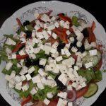 Греческий салат домашний