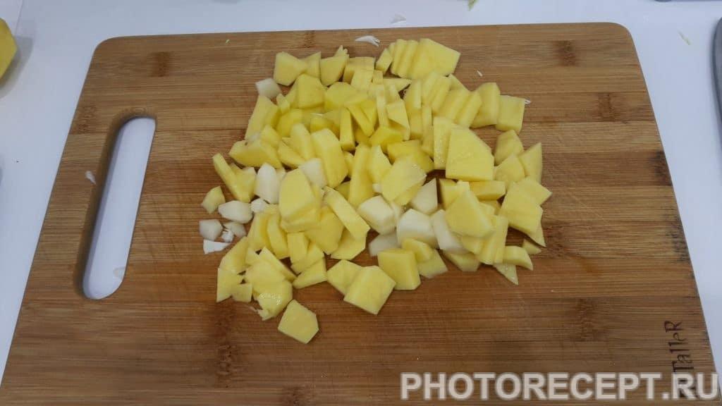 Фото рецепта - Борщ на кроличьем бульоне - шаг 2