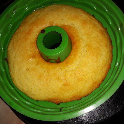 Бисквитный кекс - рецепт с фото