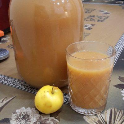 Яблочный сок на зиму - рецепт с фото