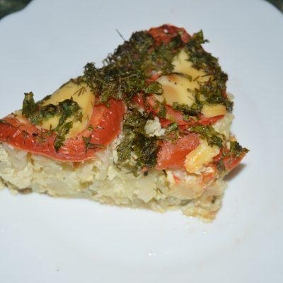 Запеканка из цветной капусты - рецепт с фото