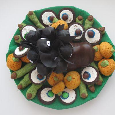 Печенье — Глаза Монстра - рецепт с фото