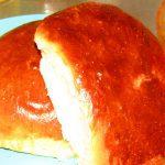 Фото рецепта - Булки и ватрушки с творожным кремом - шаг 4
