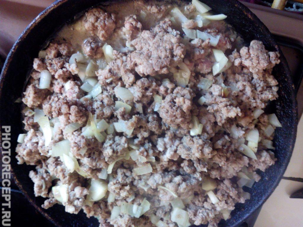 Фото рецепта - Фаршированный кабачок мясом - шаг 2