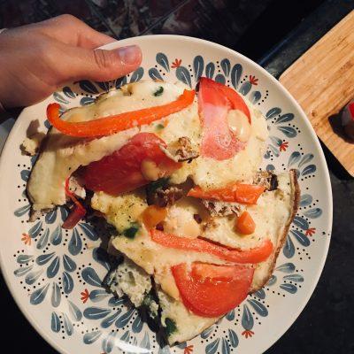 Итальянская фриттата на сковороде - рецепт с фото