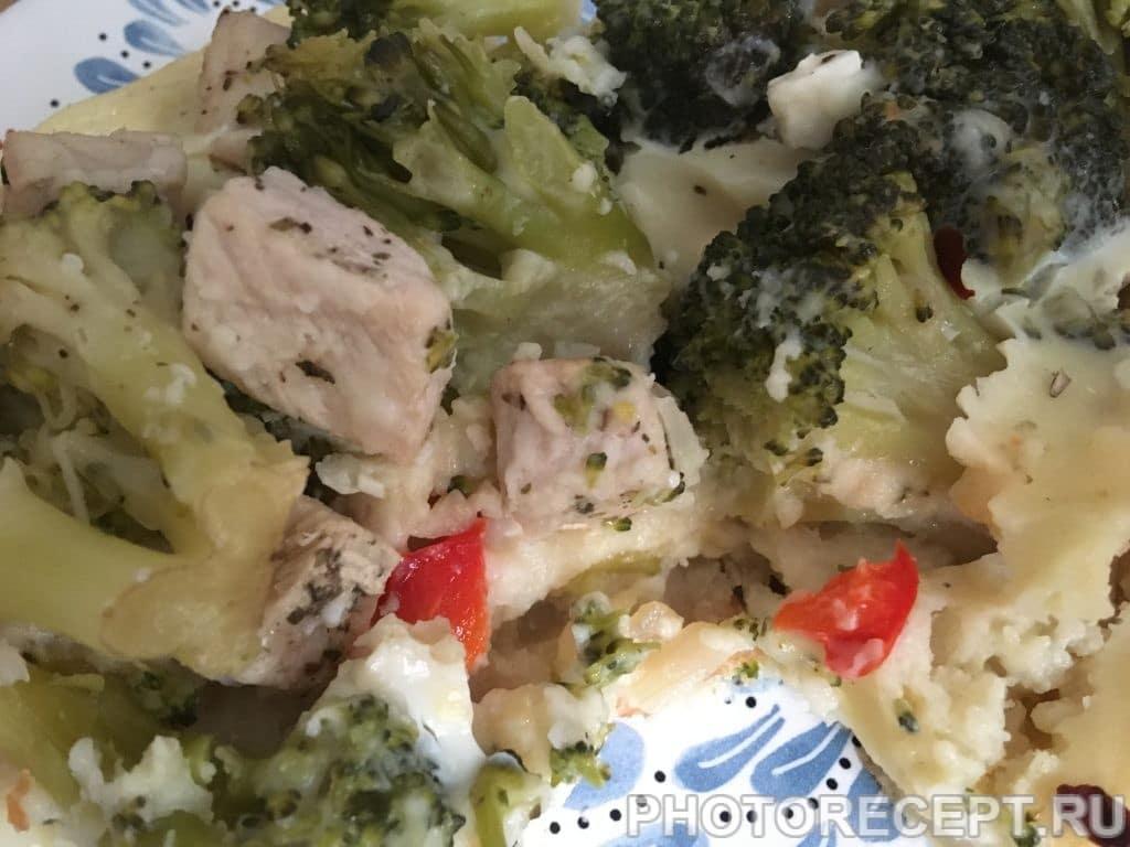 Фото рецепта - Картофельный пирог с брокколи - шаг 9