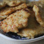 Сытные куриные блины с сыром