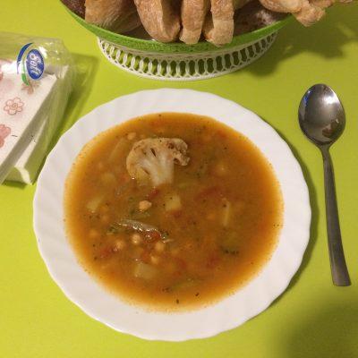 Тархана с турецким горохом - рецепт с фото