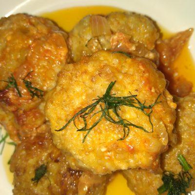 Куриные «Овсянники», в томатном соусе - рецепт с фото