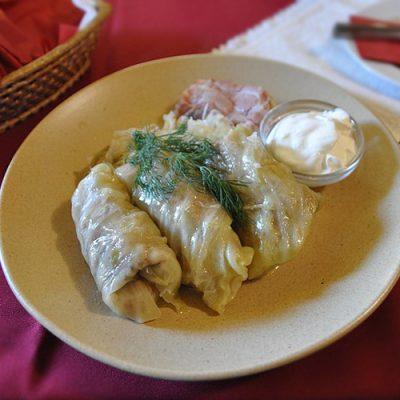 Голубцы с творожно-яичной начинкой, в мультиварке - рецепт с фото